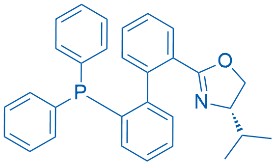 (S)-2-(2'-(Diphenylphosphanyl)-[1,1'-biphenyl]-2-yl)-4-isopropyl-4,5-dihydrooxazole
