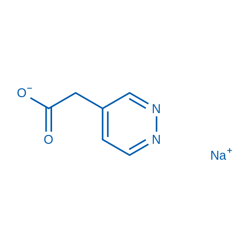 2-(Pyridazin-4-yl)acetic acid,sodium salt