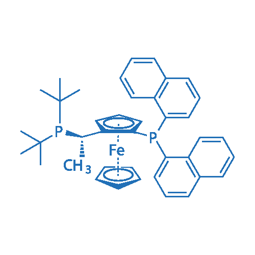 (2S)-1-[(1S)-1-[Bis(1,1-dimethylethyl)phosphino]ethyl]-2-(di-1-naphthalenylphosphino)ferrocene