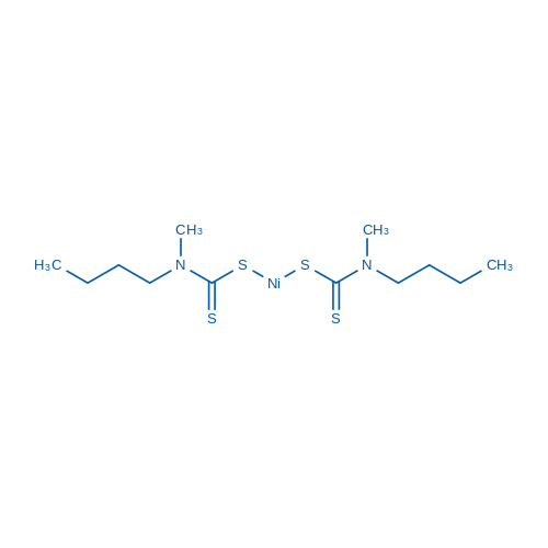 Bis((butyl(methyl)carbamothioyl)thio)nickel