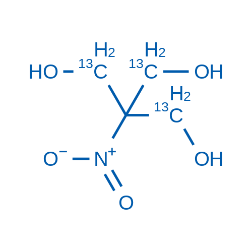 2-(Hydroxymethyl-13C)-2-nitropropane-1,3-diol-1,3-13C2