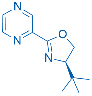 (R)-4-(tert-Butyl)-2-(pyrazin-2-yl)-4,5-dihydrooxazole