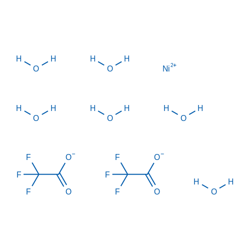 Nickel(II) 2,2,2-trifluoroacetate hexahydrate