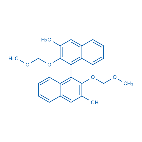 (11BS)-2,2'-bis(methoxymethoxy)-3,3'-dimethyl-1,1'-binaphthalene