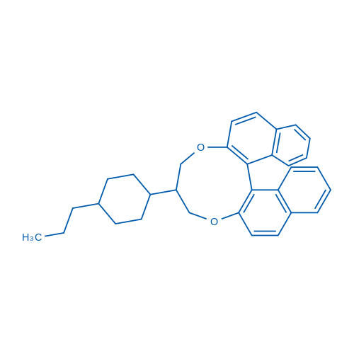 (11BR)-9-(4-propylcyclohexyl)-9,10-dihydro-8H-dinaphtho[2,1-f:1',2'-h][1,5]dioxonine