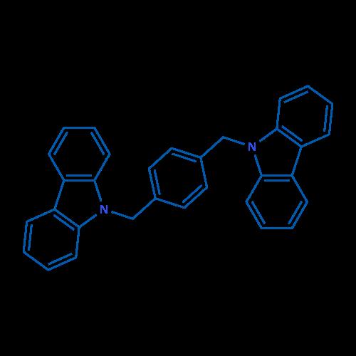 1,4-Bis((9H-carbazol-9-yl)methyl)benzene
