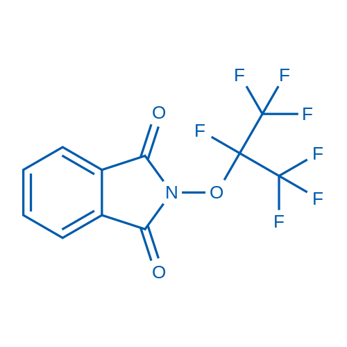 2-((Perfluoropropan-2-yl)oxy)isoindoline-1,3-dione