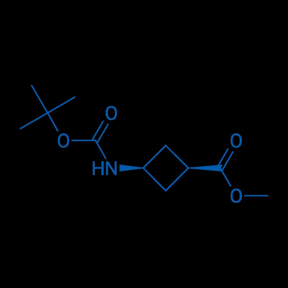cis-Methyl 3-((tert-butoxycarbonyl)amino)cyclobutanecarboxylate