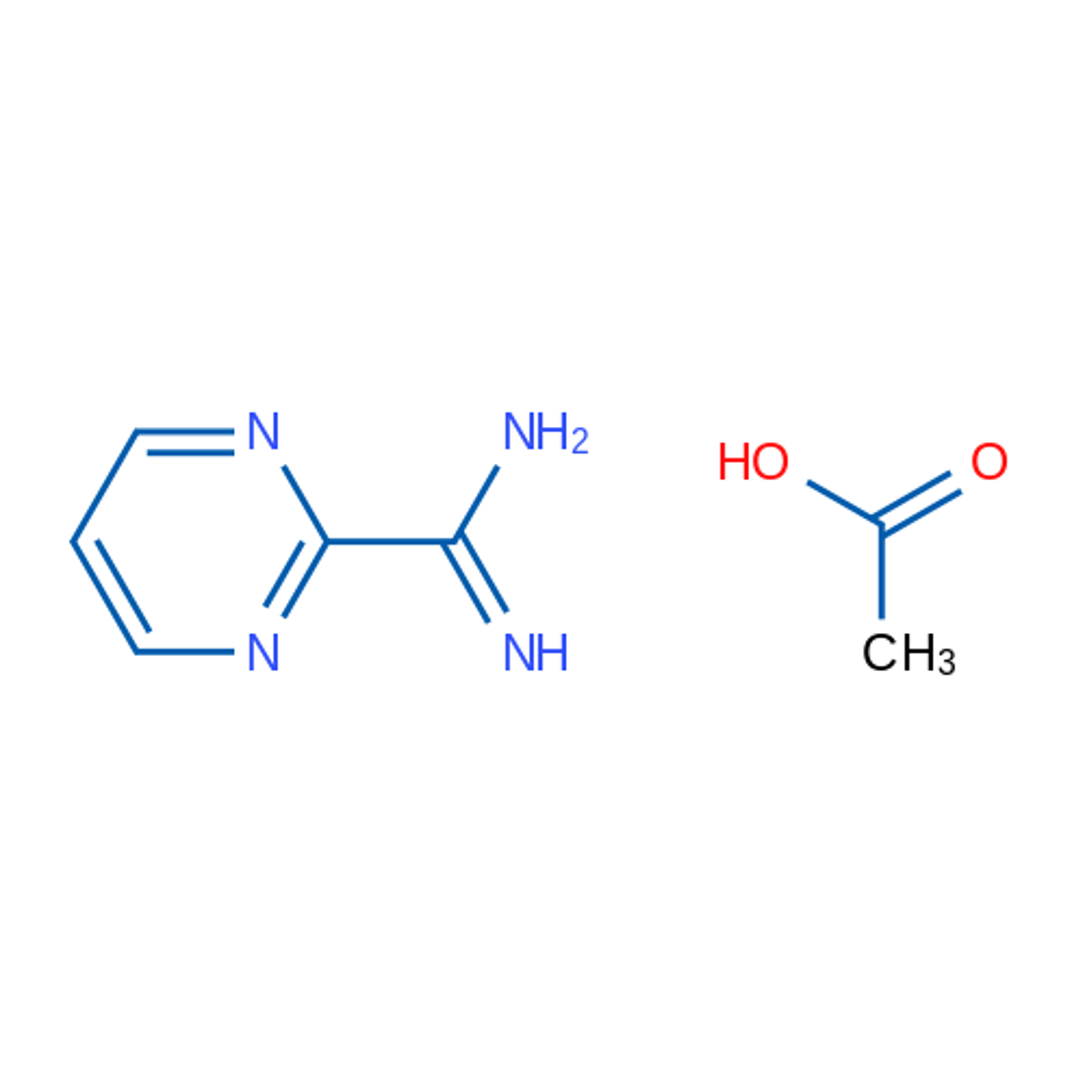 Pyrimidine-2-carboximidamide acetate
