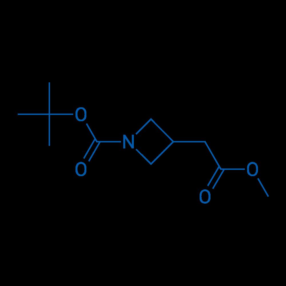tert-Butyl 3-(2-methoxy-2-oxoethyl)azetidine-1-carboxylate
