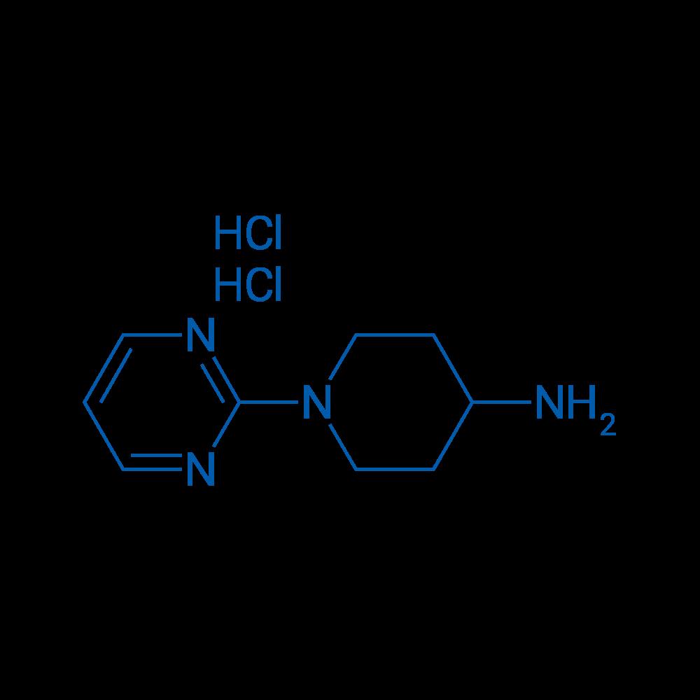 1-(Pyrimidin-2-yl)piperidin-4-amine dihydrochloride
