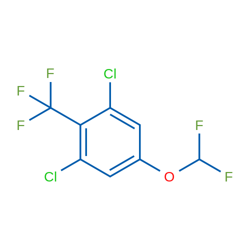 1,3-Dichloro-5-(difluoromethoxy)-2-(trifluoromethyl)benzene