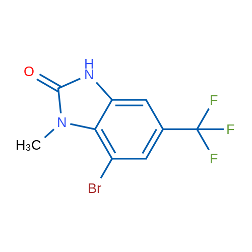 7-Bromo-1-methyl-5-(trifluoromethyl)-1H-benzo[d]imidazol-2(3H)-one