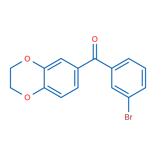 3-Bromo-3',4'-(ethylenedioxy)benzophenone
