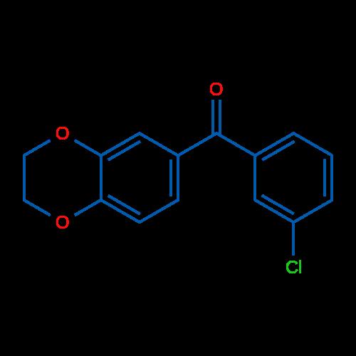 3-Chloro-3',4'-(ethylenedioxy)benzophenone