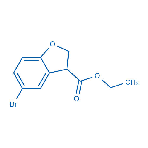 Ethyl 5-bromo-2,3-dihydrobenzofuran-3-carboxylate