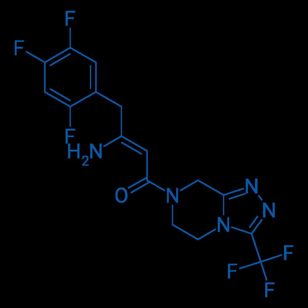 (2Z)-4-Oxo-4-[3-(trifluoromethyl)-5,6-dihydro[1,2,4]triazolo[4,3-a]pyrazine-7(8H)-yl]-1-(2,4,5-trifluorophenyl)but-2-en-2-amine