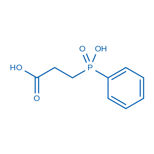 3-(Hydroxy(phenyl)phosphoryl)propanoic acid