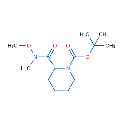(R)-tert-Butyl 2-(methoxy(methyl)carbamoyl)piperidine-1-carboxylate