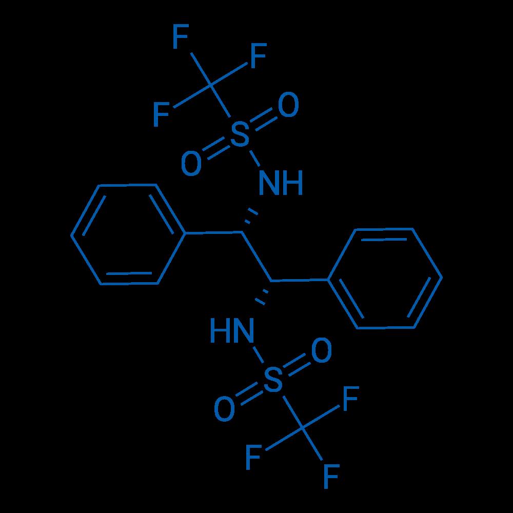 N,N'-((1S,2S)-1,2-diphenylethane-1,2-diyl)bis(1,1,1-trifluoromethanesulfonamide)