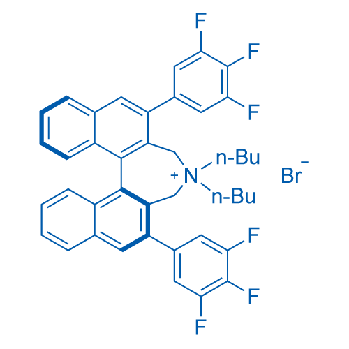 (11bS)-4,4-Dibutyl-4,5-dihydro-2,6-bis(3,4,5-trifluorophenyl)-3H-dinaphth[2,1-c:1′,2′-e]azepinium bromide