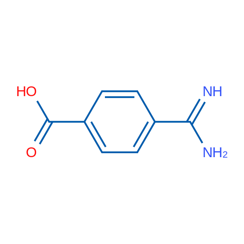 4-Carbamimidoylbenzoic acid
