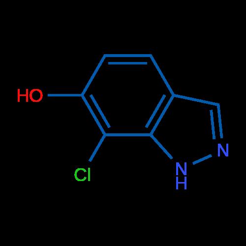 7-Chloro-1H-indazol-6-ol