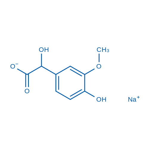 Sodium 2-hydroxy-2-(4-hydroxy-3-methoxyphenyl)acetate
