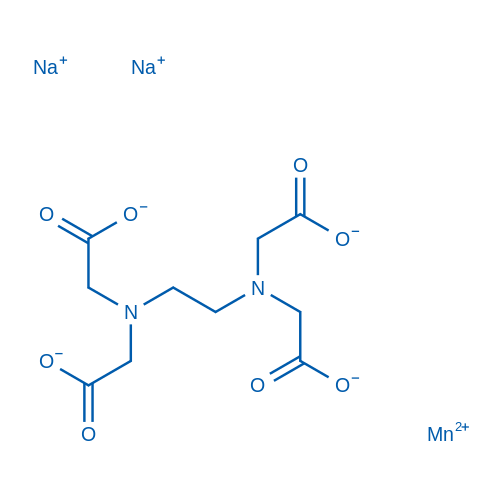 Manganese(II) disodium 2,2',2'',2'''-(ethane-1,2-diylbis(azanetriyl))tetraacetate