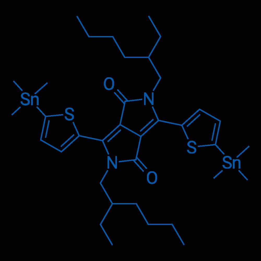 2,5-Bis(2-ethylhexyl)-3,6-bis(5-(trimethylstannyl)thiophen-2-yl)pyrrolo[3,4-c]pyrrole-1,4(2H,5H)-dione