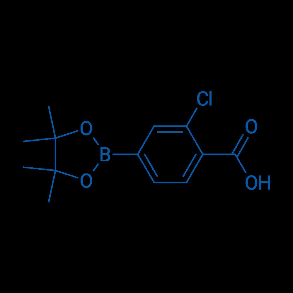 2-Chloro-4-(4,4,5,5-tetramethyl-1,3,2-dioxaborolan-2-yl)benzoic acid