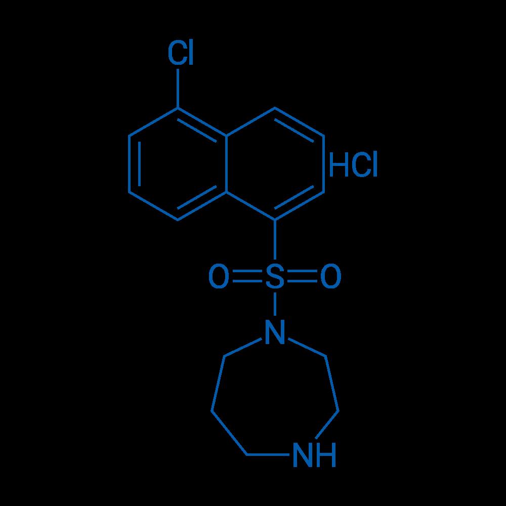 1-((5-Chloronaphthalen-1-yl)sulfonyl)-1,4-diazepane hydrochloride