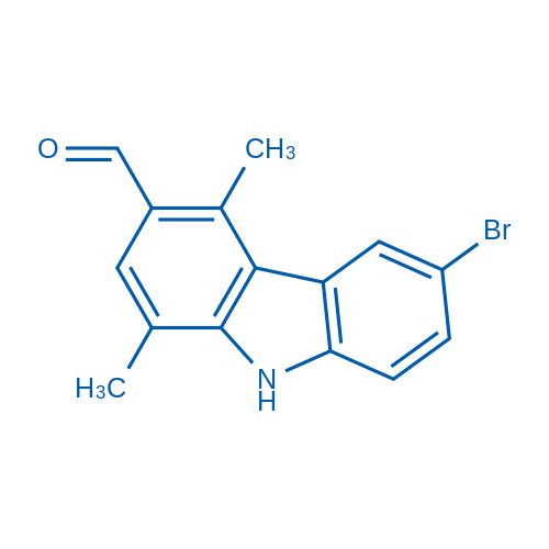 6-Bromo-1,4-dimethyl-9H-carbazole-3-carbaldehyde