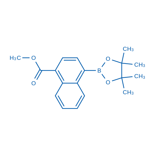 Methyl 4-(4,4,5,5-tetramethyl-1,3,2-dioxaborolan-2-yl)-1-naphthoate