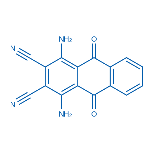 1,4-Diamino-9,10-dioxo-9,10-dihydroanthracene-2,3-dicarbonitrile