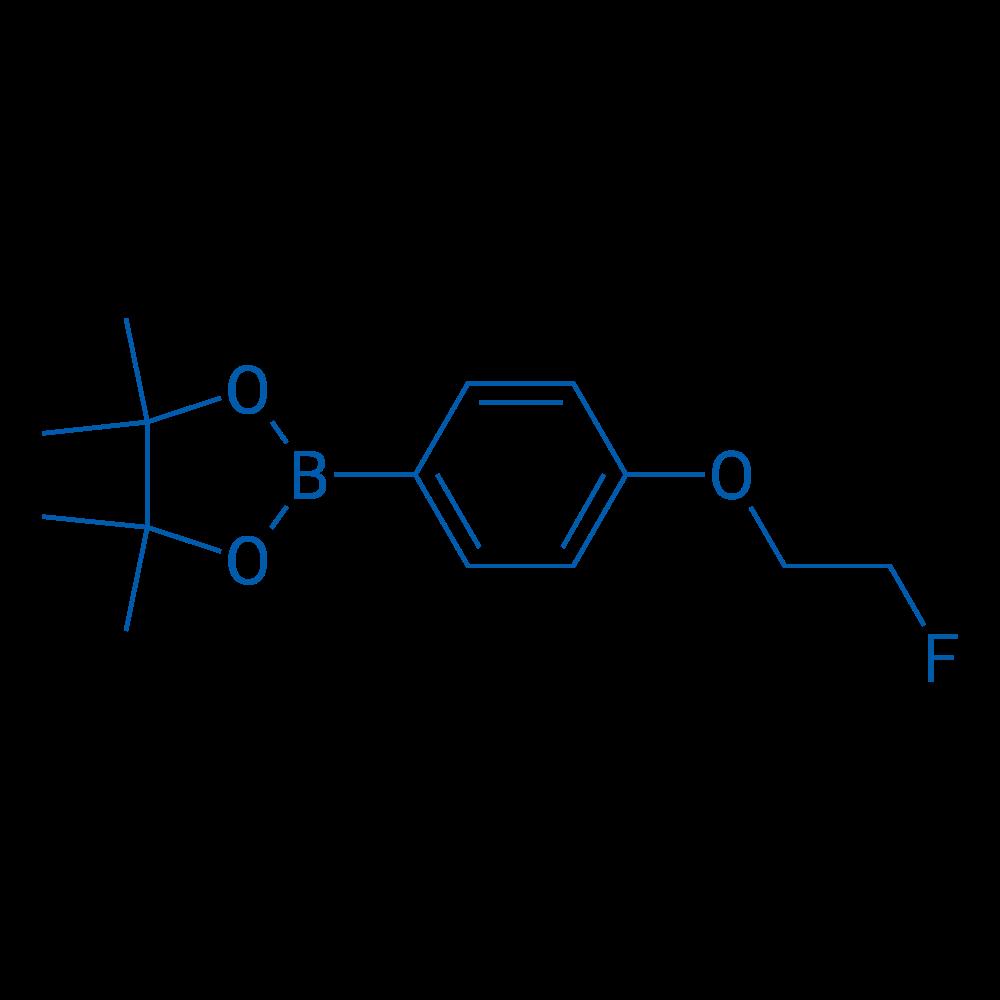 2-(4-(2-Fluoroethoxy)phenyl)-4,4,5,5-tetramethyl-1,3,2-dioxaborolane