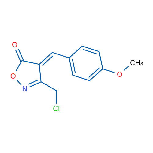 3-(Chloromethyl)-4-(4-methoxybenzylidene)isoxazol-5(4H)-one