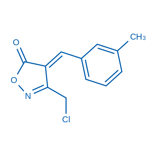 3-(Chloromethyl)-4-(3-methylbenzylidene)isoxazol-5(4H)-one