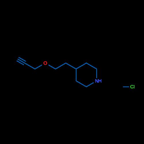 4-(2-(Prop-2-yn-1-yloxy)ethyl)piperidine hydrochloride