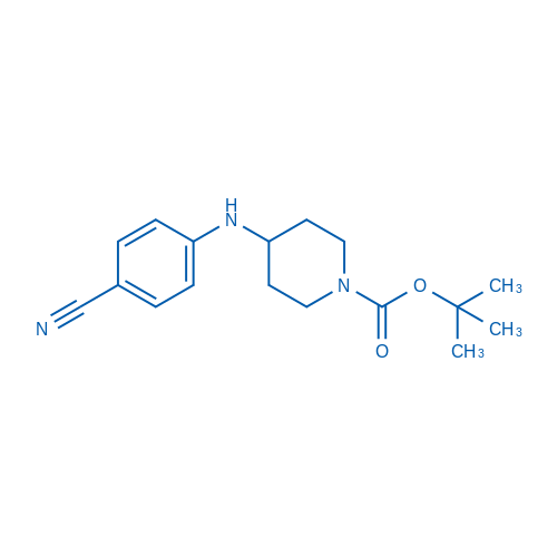 1-Boc-4-[(4-cyanophenyl)amino]-piperidine