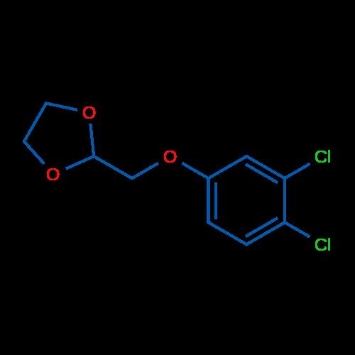 2-((3,4-Dichlorophenoxy)methyl)-1,3-dioxolane