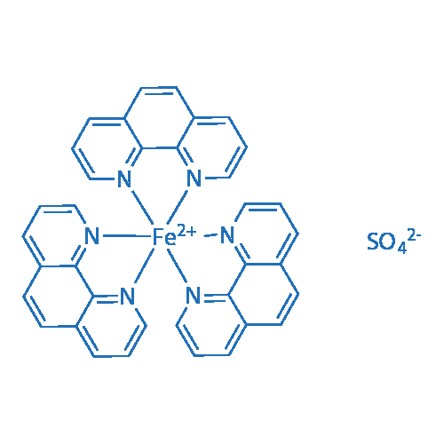 Tris(1,10-phenanthroline)iron(II) sulfate