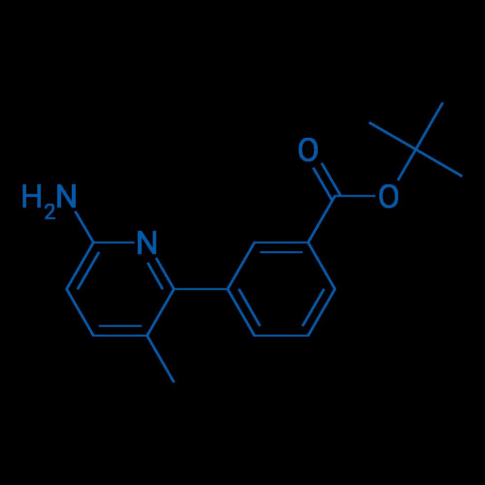 tert-Butyl3-(6-amino-3-methylpyridin-2-yl)benzoate