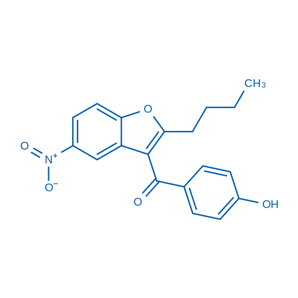 (2-Butyl-5-nitrobenzofuran-3-yl)(4-hydroxyphenyl)methanone
