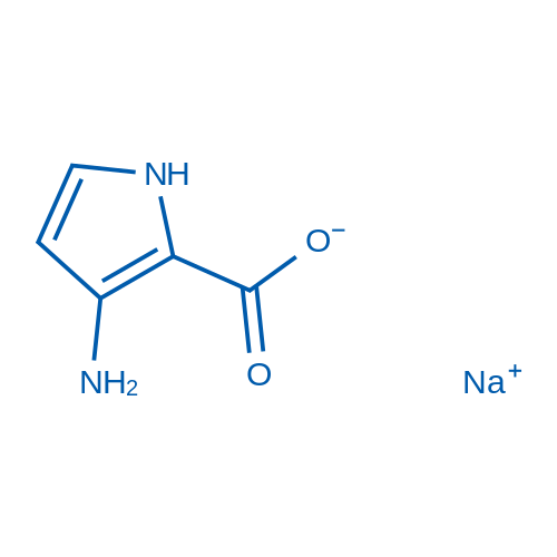 3-Amino-1H-pyrrole-2-carboxylic acid, sodium salt