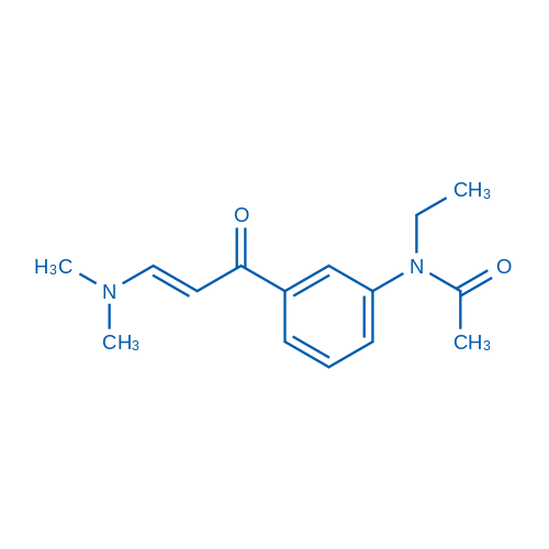 N-(3-(3-(Dimethylamino)acryloyl)phenyl)-N-ethylacetamide