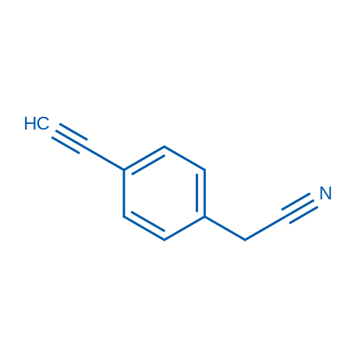 4-Ethynylphenylacetonitrile