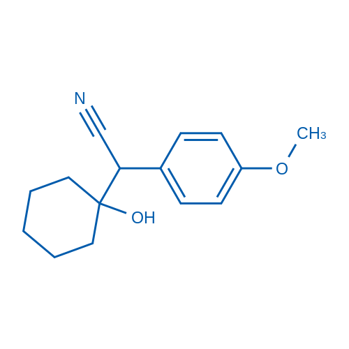 2-(1-Hydroxycyclohexyl)-2-(4-methoxyphenyl)acetonitrile