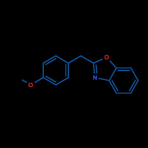 2-(4-Methoxybenzyl)benzo[d]oxazole