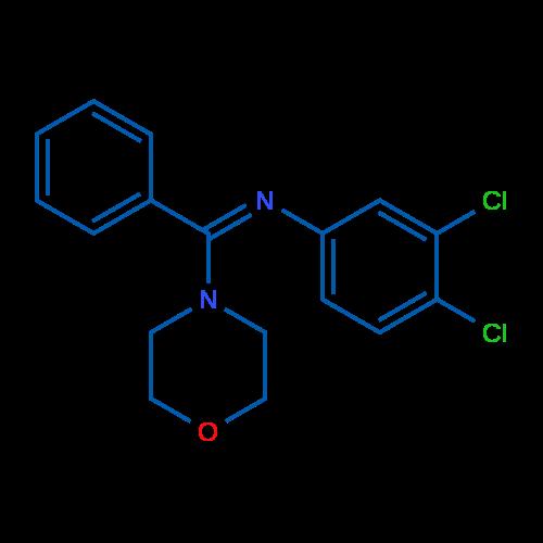 (Z)-3,4-Dichloro-N-(morpholino(phenyl)methylene)aniline
